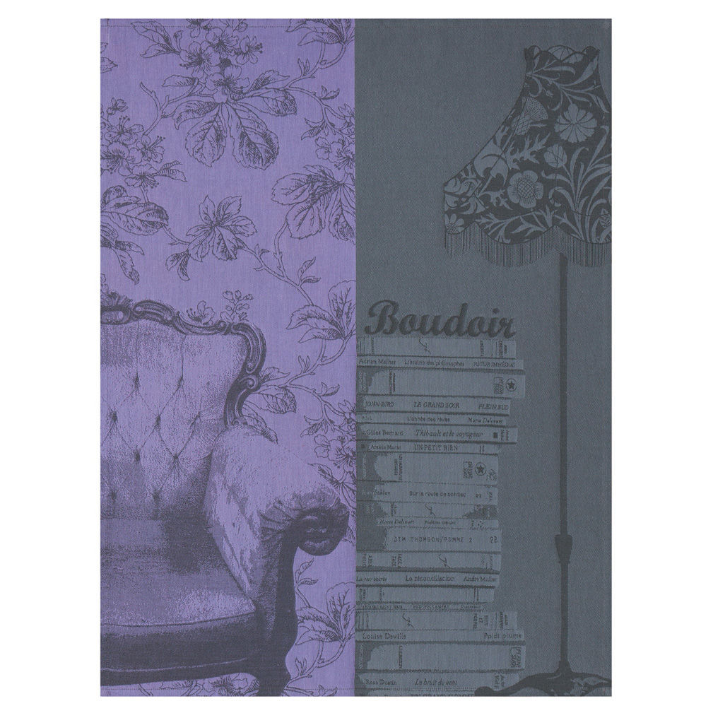 le jacquard francais boudoir tea towel doris and boris. Black Bedroom Furniture Sets. Home Design Ideas