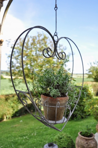 Heart Hanging Planter